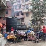 Spaziergang durch Katmandu