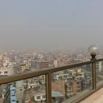 Blick von der Hotelterrasse