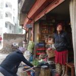 Spaziergang durch Nepal