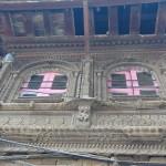 Handgeschnitzte Fassade