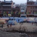 Zelte für die Erdbebenopfer